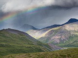 Rainbow over the Arctic Divide, Gates of the Arctic National Park and Preserve, 2015.