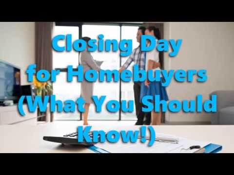 Your First Home - The Closing Process